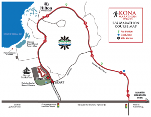 Quarter Marathon Course Map